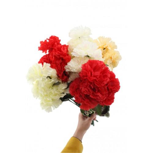 Carnations 8 Head 39.5cm