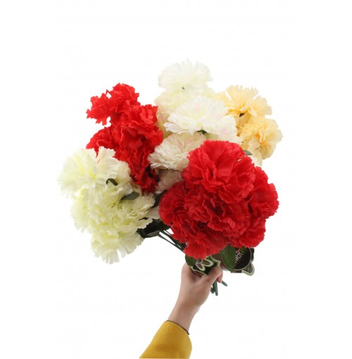 Carnations 8 Head 39.5cm