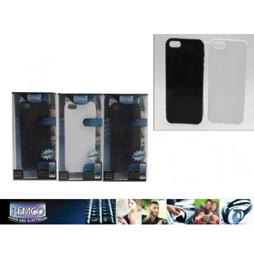 Iphone 5 Plastic Cover Back Black/White
