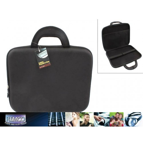 Laptop Case 38cm Moulded Nylon 1680d Black