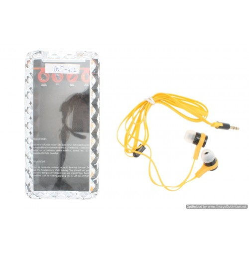 High Quality Earbuds In Plastic Case 2 Asst