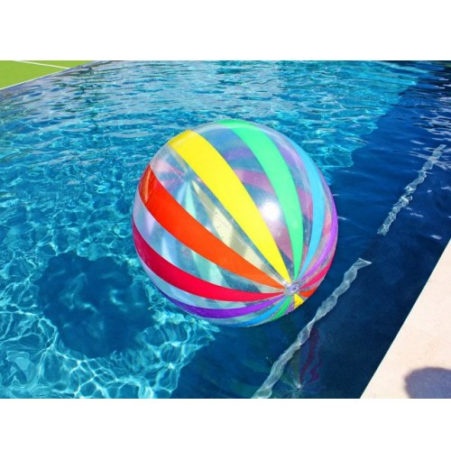 Beach Ball Rainbow Colours 51cm