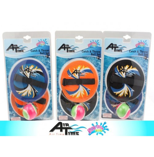 Airtime Catch &Amp;Amp; Throw Ball Set 3pc