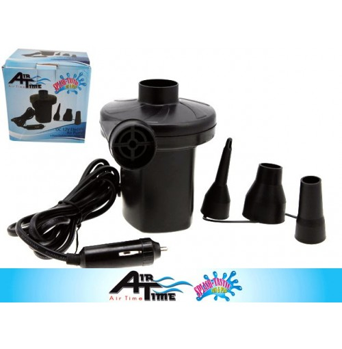 In/Deflate 12v Electric Air Pump With Adaptor