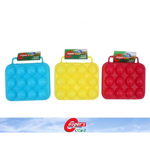 Egg Carrier 12 Egg Plastic