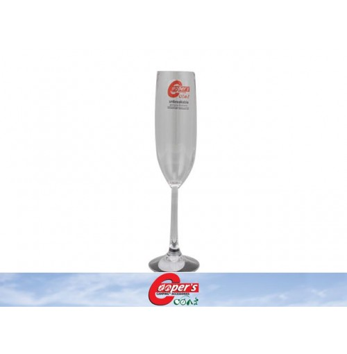 Glass Champagne Polycarbonate Unbreakable Coopers