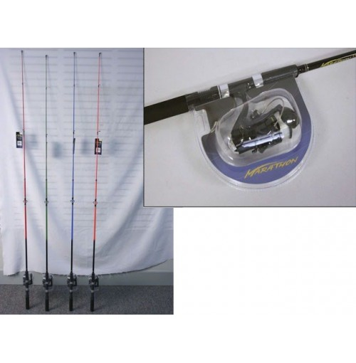 Fishing Rod 6ft 183cm Spin Combo/Blaze