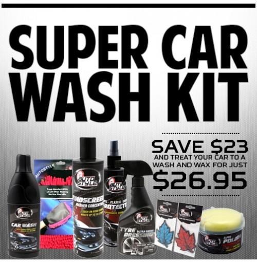 Super Car Wash Kit