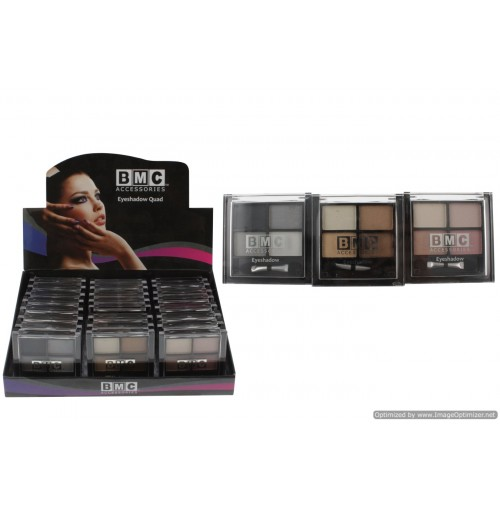 Bmc Eyeshadow  Quad 4 Col Set In Display