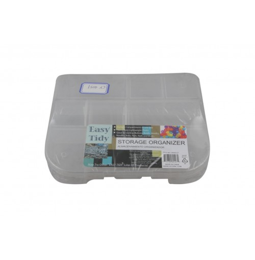 Storage Box 9 Compartment 19.5x16.5x5mcm