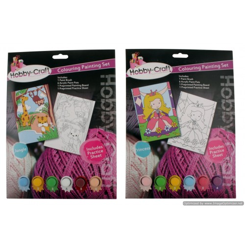 Colouring Painting Book