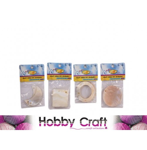 Craft Shells Jewellery Diy 2pk