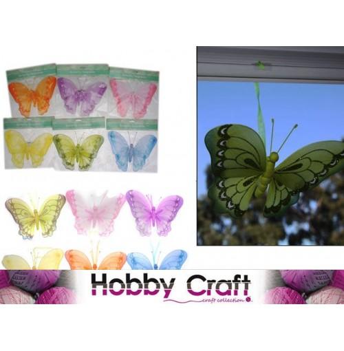 Deco Butterfly 26x17cm