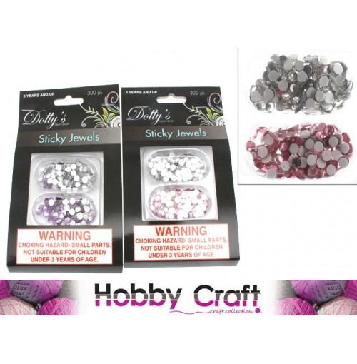 Craft Jewels Sticky 300pcs Colrs