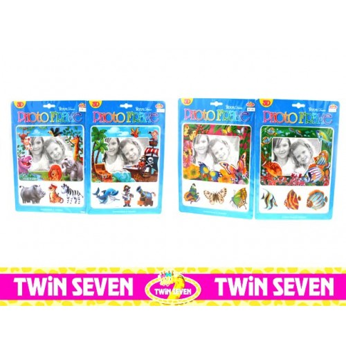 Twin Seven Photo Frame & Sticker Pop Up