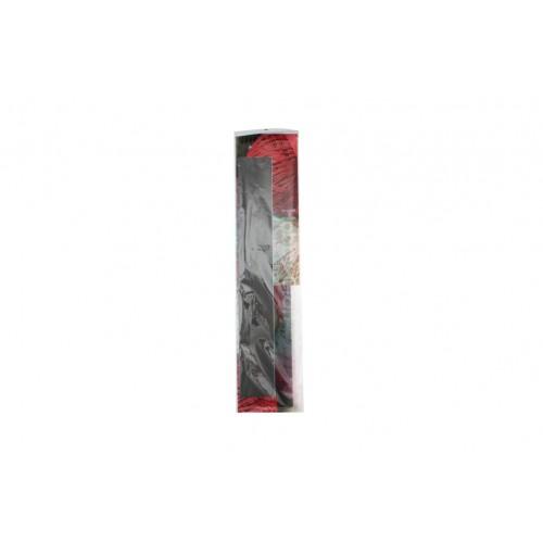 Crepe Paper 50x200cm Black 1pc 22gm