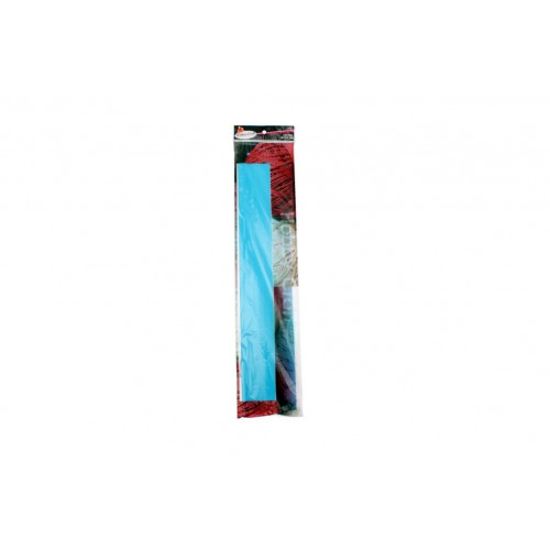 Crepe Paper 50x200cm Aqua Blue 1pce 22gm