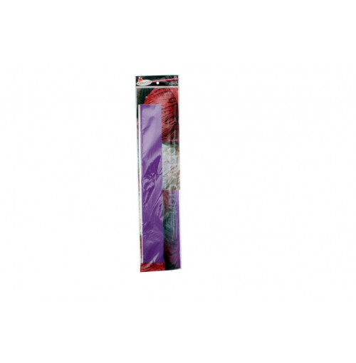 Crepe Paper 50x200cm Purple 1pce 22gm