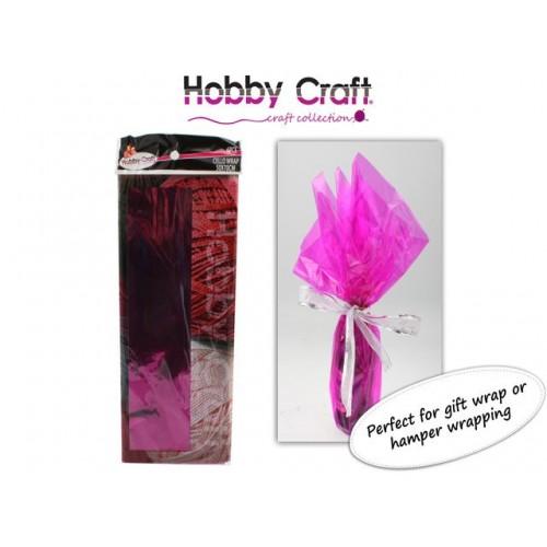 Cello Wrap Pink 50x70cm 6pce