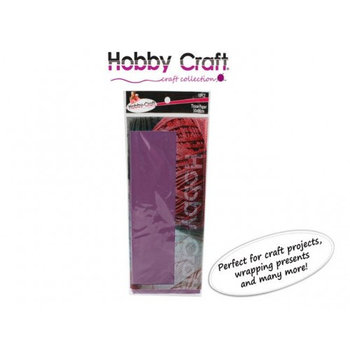 Tissue Paper 50x66cm Dark Purple 10pcs