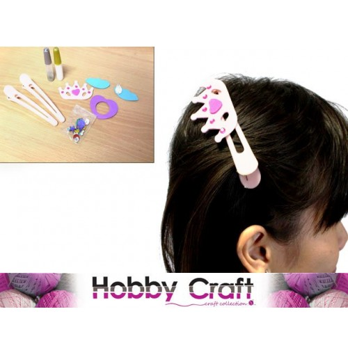 Craft Hair Clip Set Assorted Design