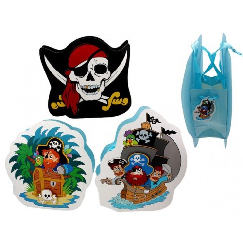 Gift Bag Pirate 3d