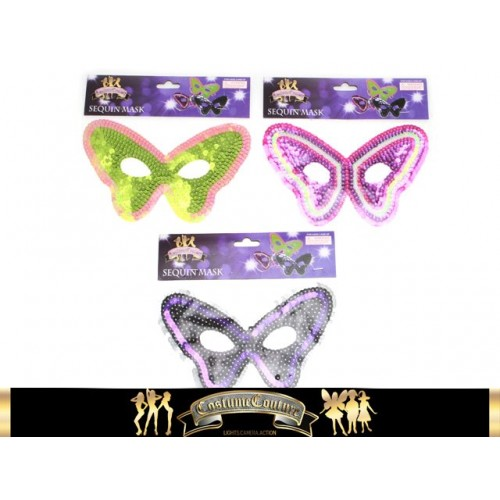 Masquerade Mask Sequins
