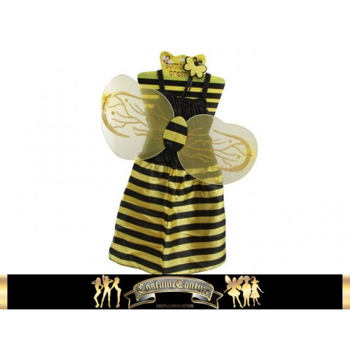 Bumble Bee Girls Dress Up Age 3-6