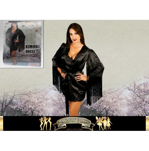 Hollywood Glamour Kimono Satin 2 Sizes