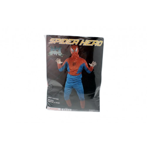 Spider Hero Adult Costume 1 Size