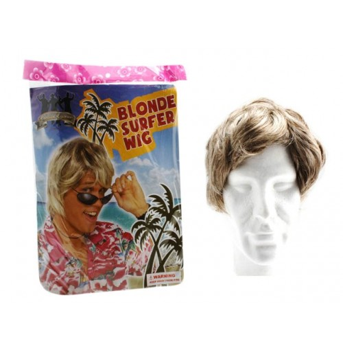 Wig Male Surfer Dude Blonde 100gm