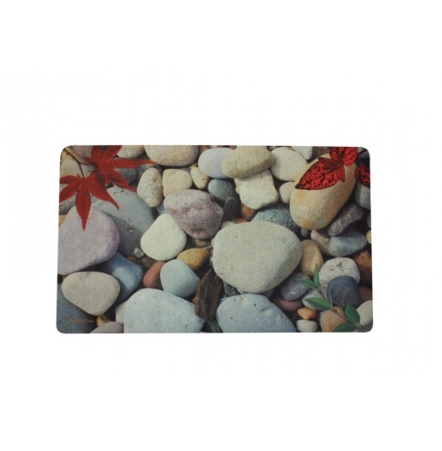 Door Mat Photo Print Stones 4 Asst 45x75cm