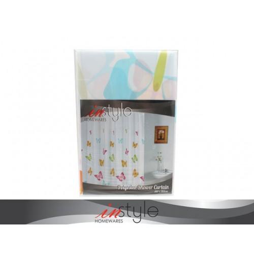 Shower Curtain 180x180cm Colour Butterfly