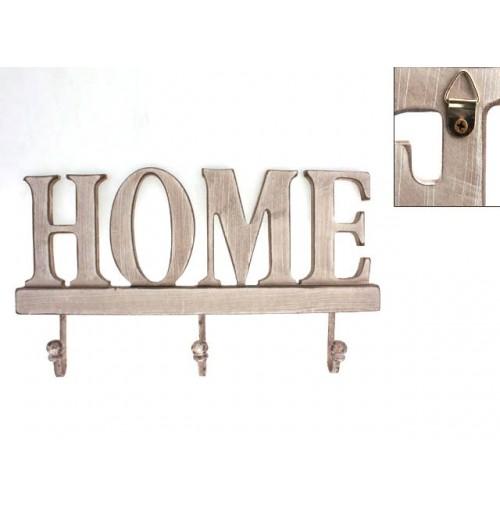 Wood Wall Hooks Home 31x15.5x2cm