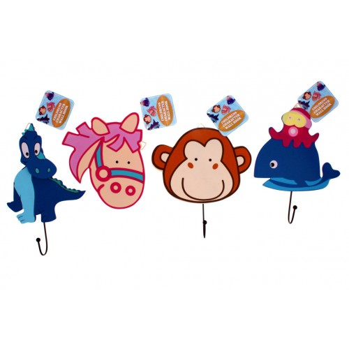 Childrens Character Wall Hooks