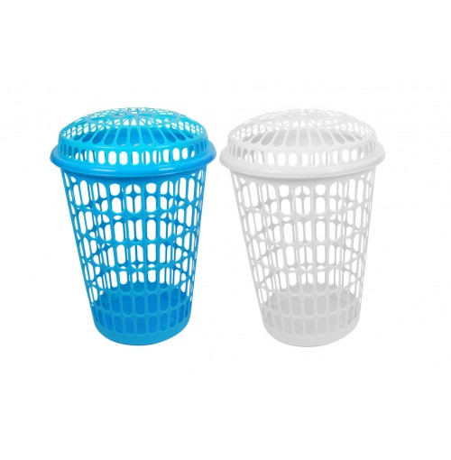 Laundry Basket W/Lid 61x43.5cm