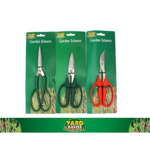 Garden Scissors 3 Asst