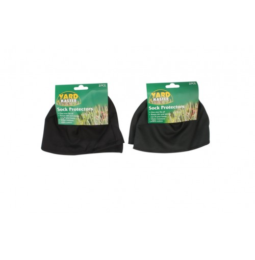 Sock Protectors 2pcs Green & Blk