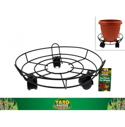 Pot Plant Stand On Wheels D/32.5cm