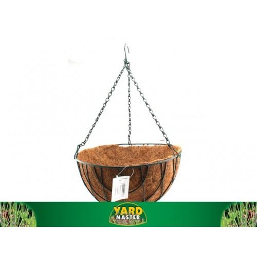 Basket Hanging W/Liner & Chain D/35cm