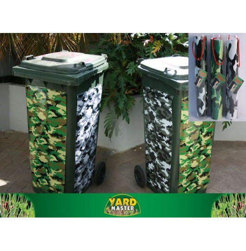 Sticker Wheelie Bin 240l Camo Series 81x40cm