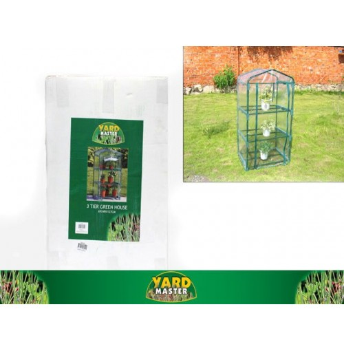 3 Tier Green House 69x49x127cm