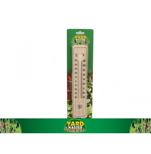 Thermometer Wood 22x5cm
