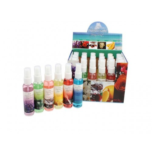 Air Freshener Room Spray 59ml 6 Asst