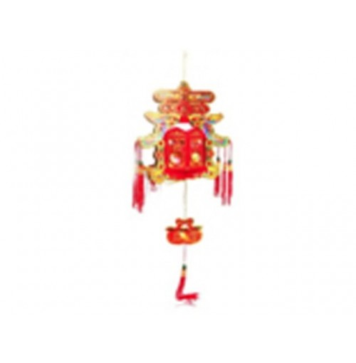 Cny Hanging Decoration Chun - Spring With Chinese Knot