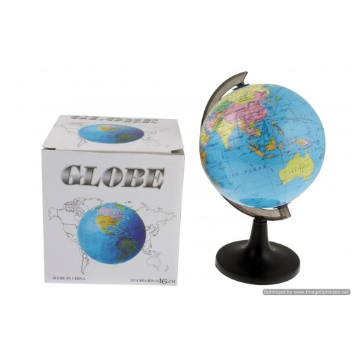 Desk Globe In Colour Box 14cm