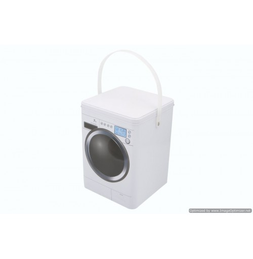 Storage Tin Laundry & Washing Powder Box 15x15x21cm