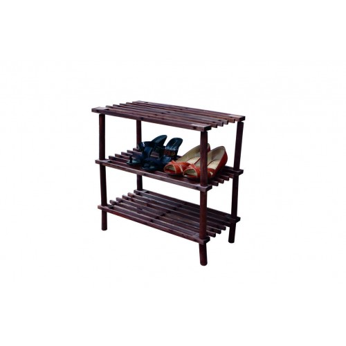 Shoe Rack Wooden 3 Shelf