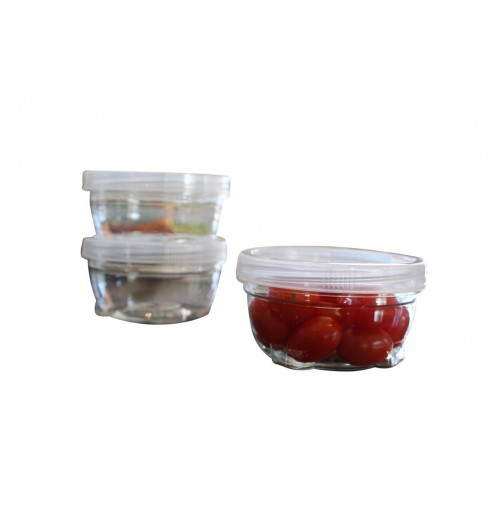 Storage Containers Twist 4 Piece Stackable