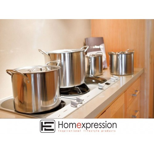 Stock Pots Stainless Steel Set 4